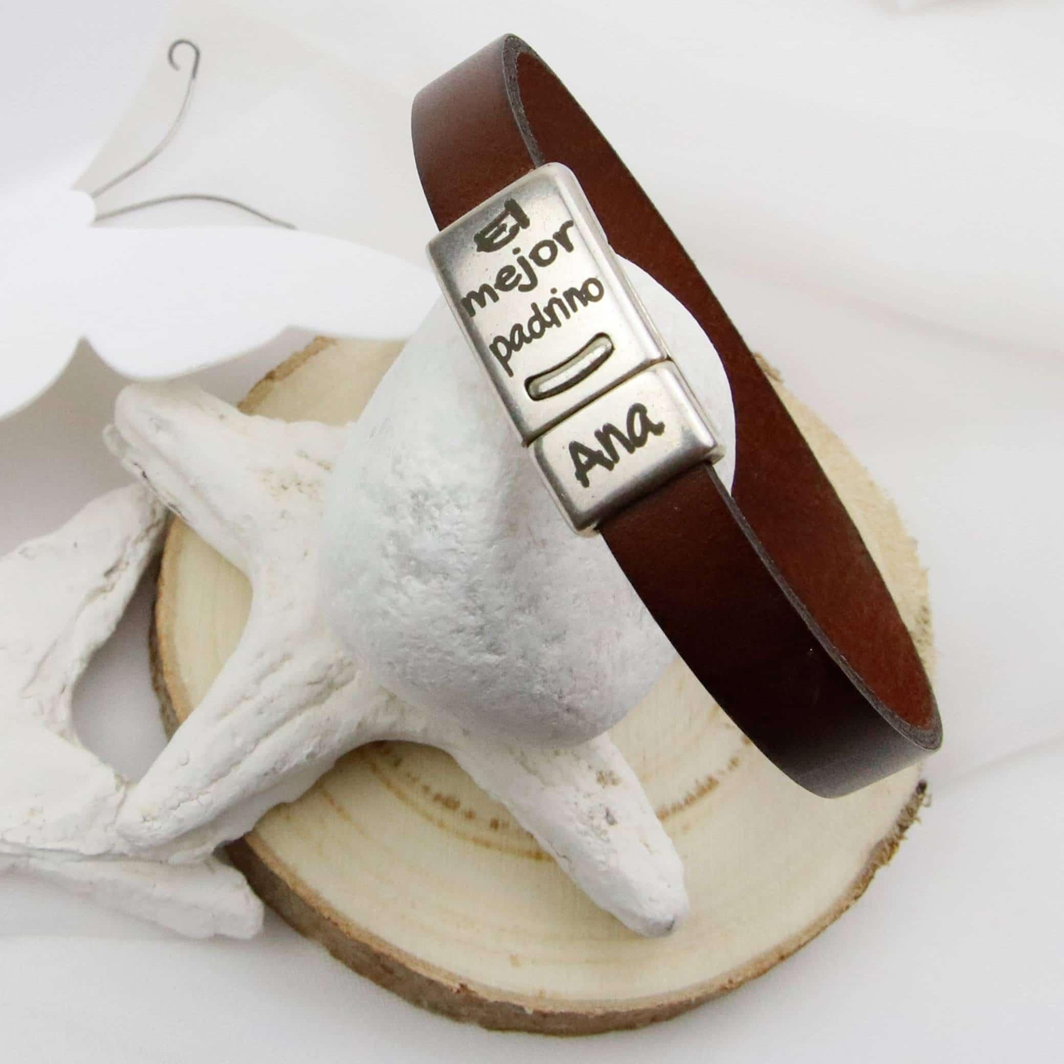 pulsera personalizada padrino