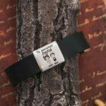 pulsera personalizada papá de cuero