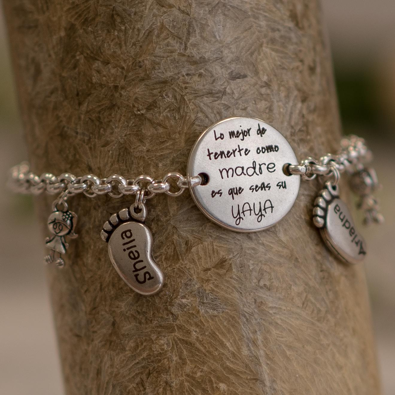 pulsera regalo para yaya