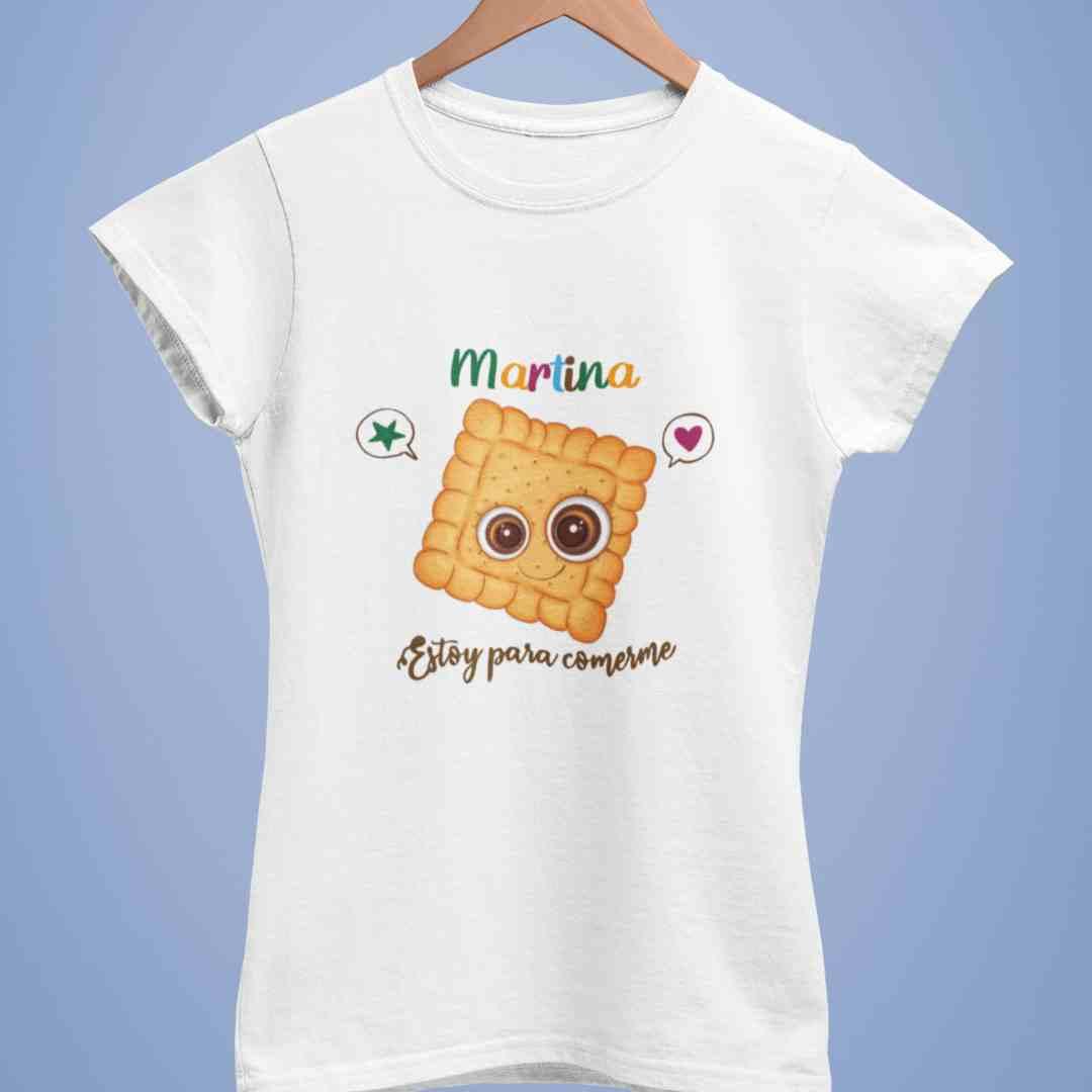 Camiseta personalizada estoy para comerme