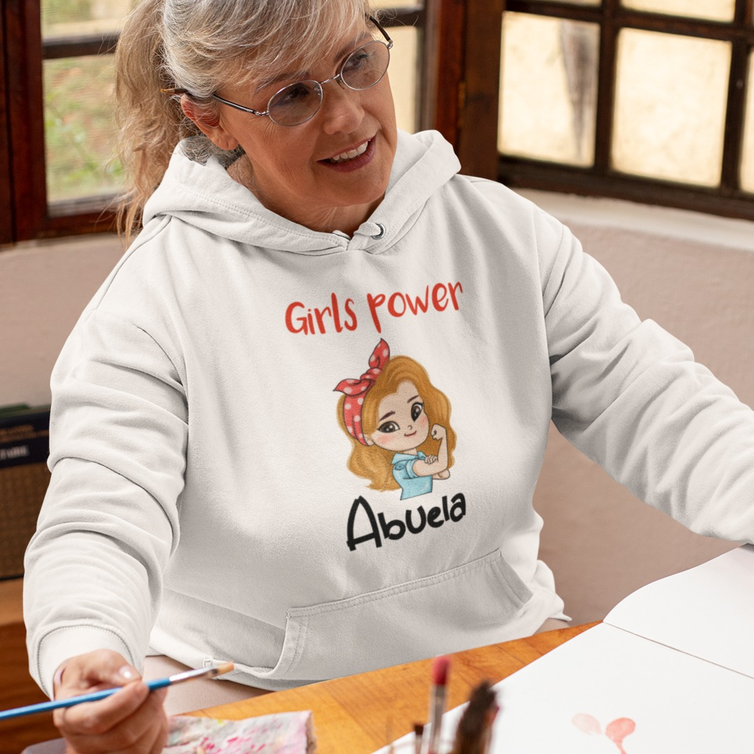 Sudadera abuela girls power