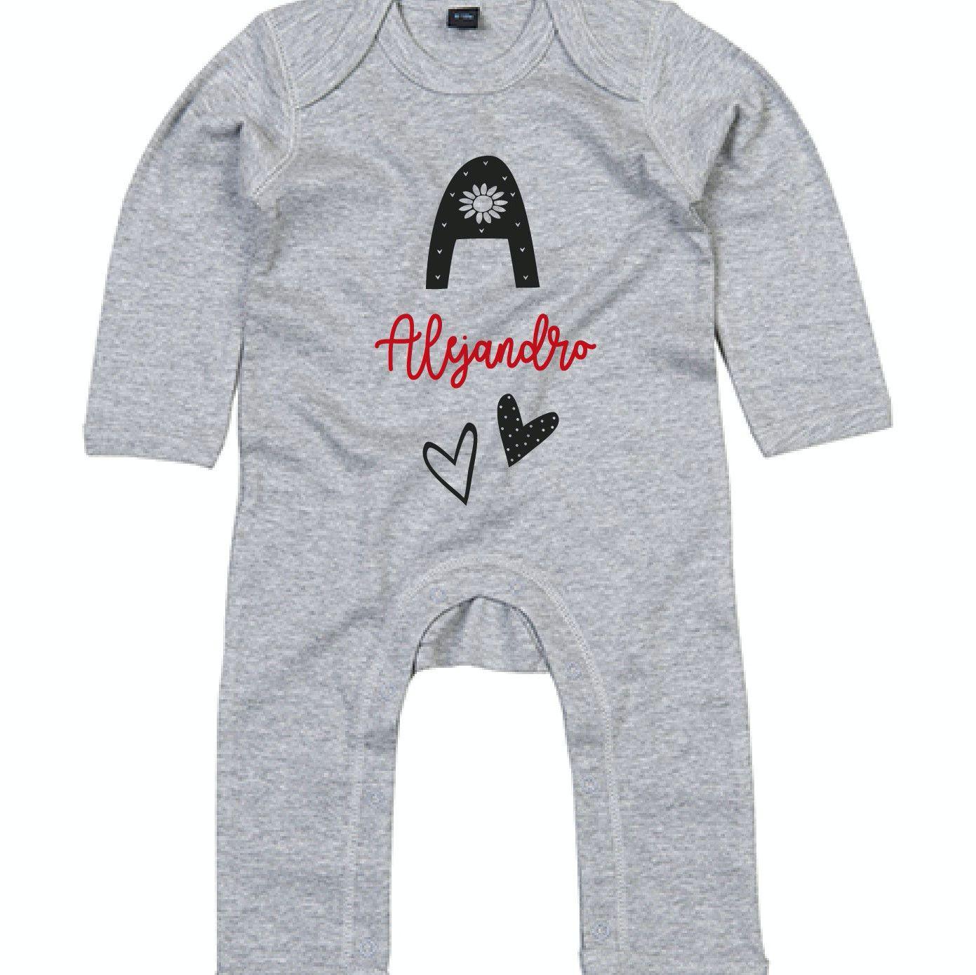 Pijama personalizado con nombre