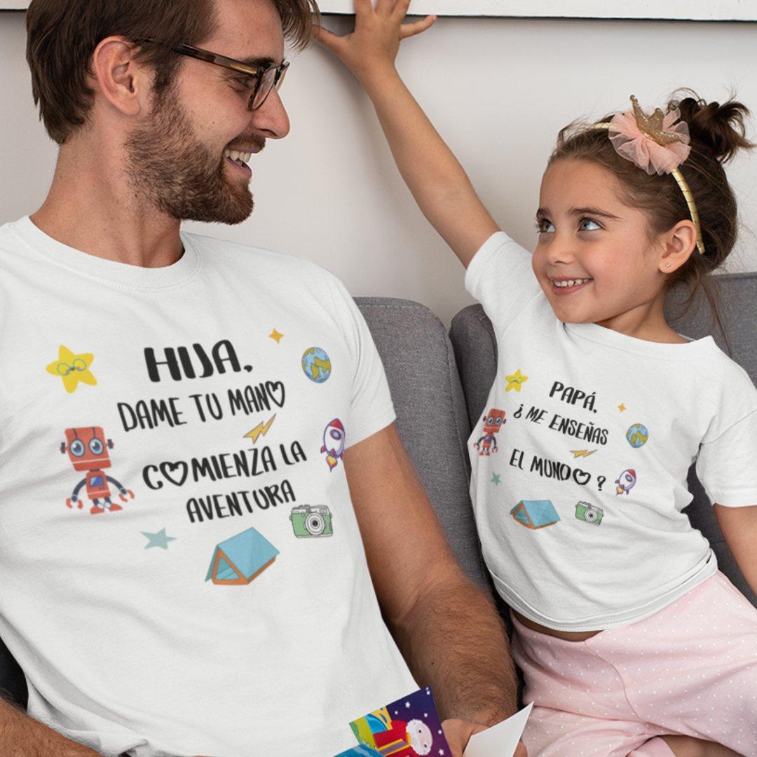 Camisetas padre e hijo