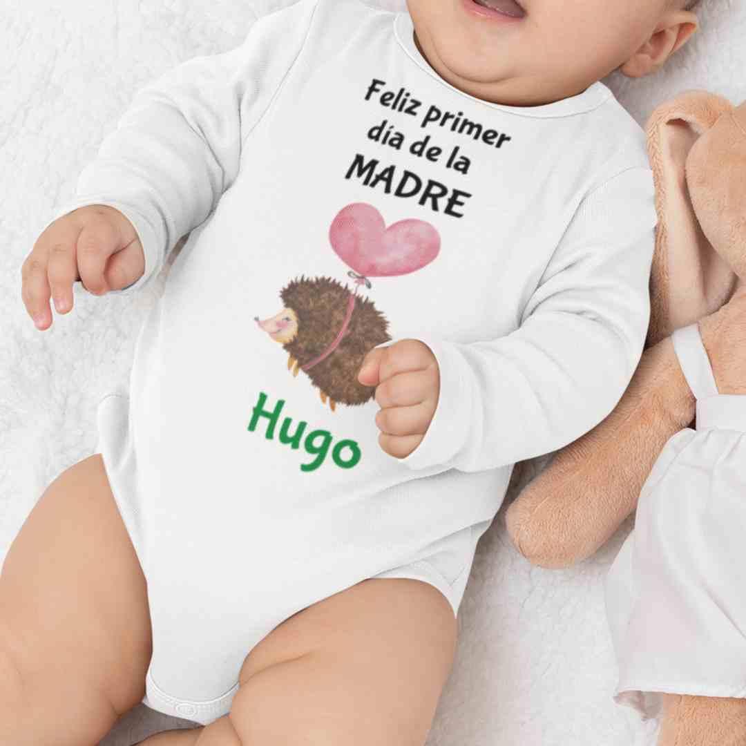 Body personalizado feliz primer día de la madre