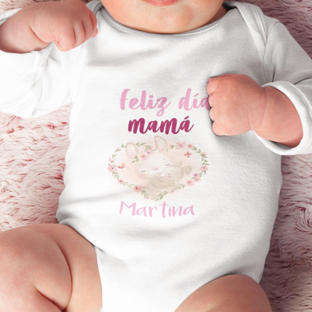 Body personalizado feliz día mamá